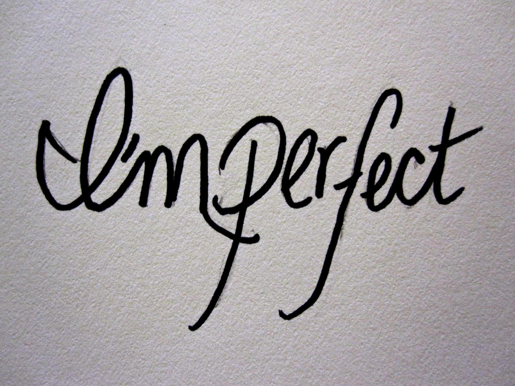 perfection in imperfection book pdf